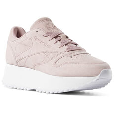 6acc3fcf635 Reebok - Classic Leather Double Smoky Rose   White DV3628. 2 colors