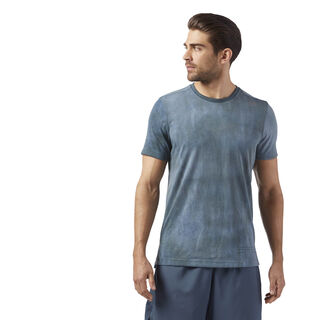 Combat SPRAYDYE TEE Grey/Whisper Teal CE2520