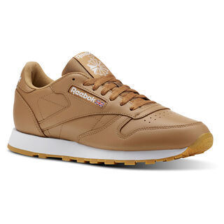 Classic Leather Fg-Soft Camel/White/Gum CN5768