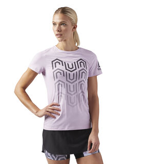 ACTIVCHILL Running T-Shirt Pink/Moonglow CW0469