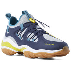 7279c61e23fd42 Reebok - DMX Series 2000 Collegiate Navy   Grey   Yellow   Mist CN7871