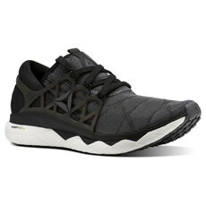 927b33334eb Reebok - Reebok Floatride Run Flexweave Black   White   Ash Grey CN5227