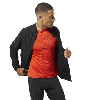 Running Hero Jacket Black CY4701