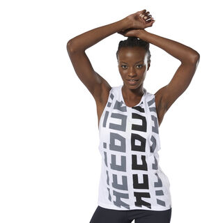 Foundations Reebok Muscle Tank White DP6200