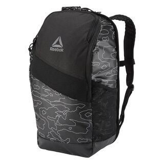 Active Enhanced Graphic Backpack 24L Black CZ9809