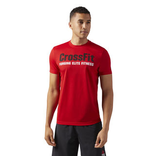 Reebok CrossFit Forging Elite Fitness Tee Primal Red CF4549