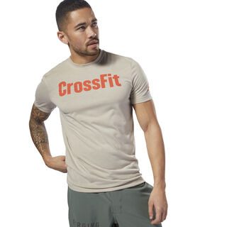 Reebok CrossFit Forging Elite Fitness Tee Parchment DH3708
