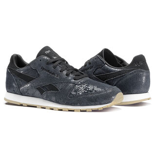 Classic Leather Clean Exotics Black/Chalk/Gum BS8229