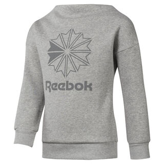 Girls' Classics Crew Medium Grey Heather DH3232