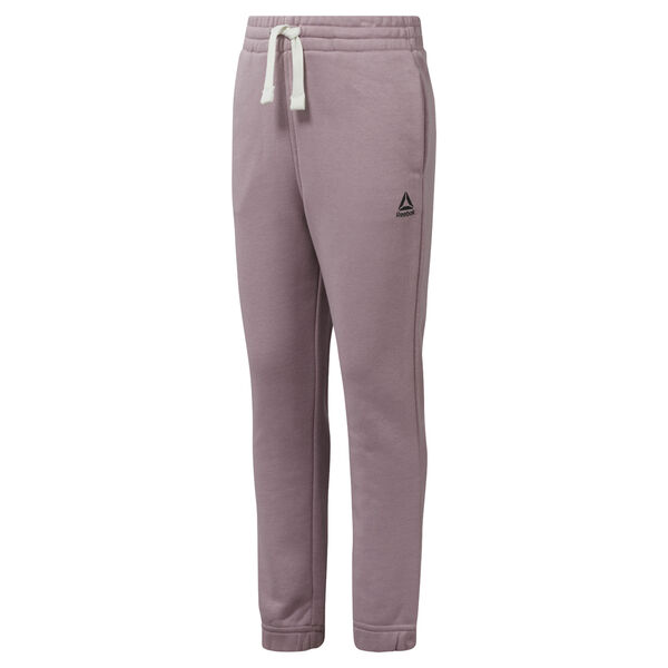 Girls Training Essentials French Terry Pant Purple DM5547