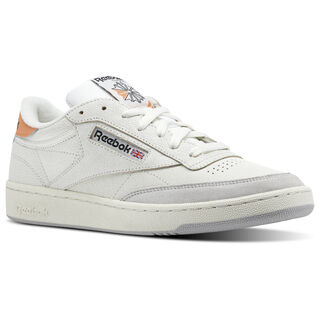 Reebok Club C 85 FT Chalk/Sunbaked Orange/Skull Grey/Black BS9749