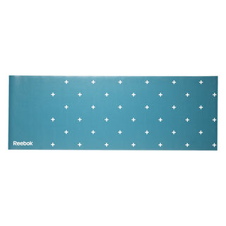 Double Sided 4 mm Yoga Mat - Stripes - Green Pink/Rebel Berry H78814