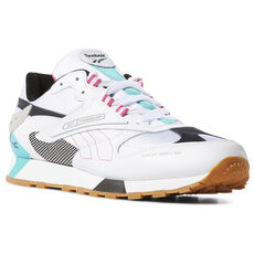 c4cd62c16a86 Reebok - Classic Leather ATI 90s White   Teal   Blk   Grey DV5373. 4 colors