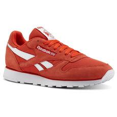 425111337665 Reebok - Classic Leather Orange CN5014