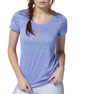 Running Reflective Tee Crushed Cobalt DU4262