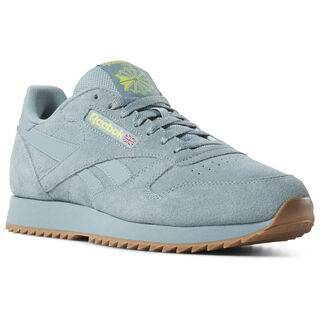 Classic Leather Montana Cans Teal Fog/Neon Lime DV3934