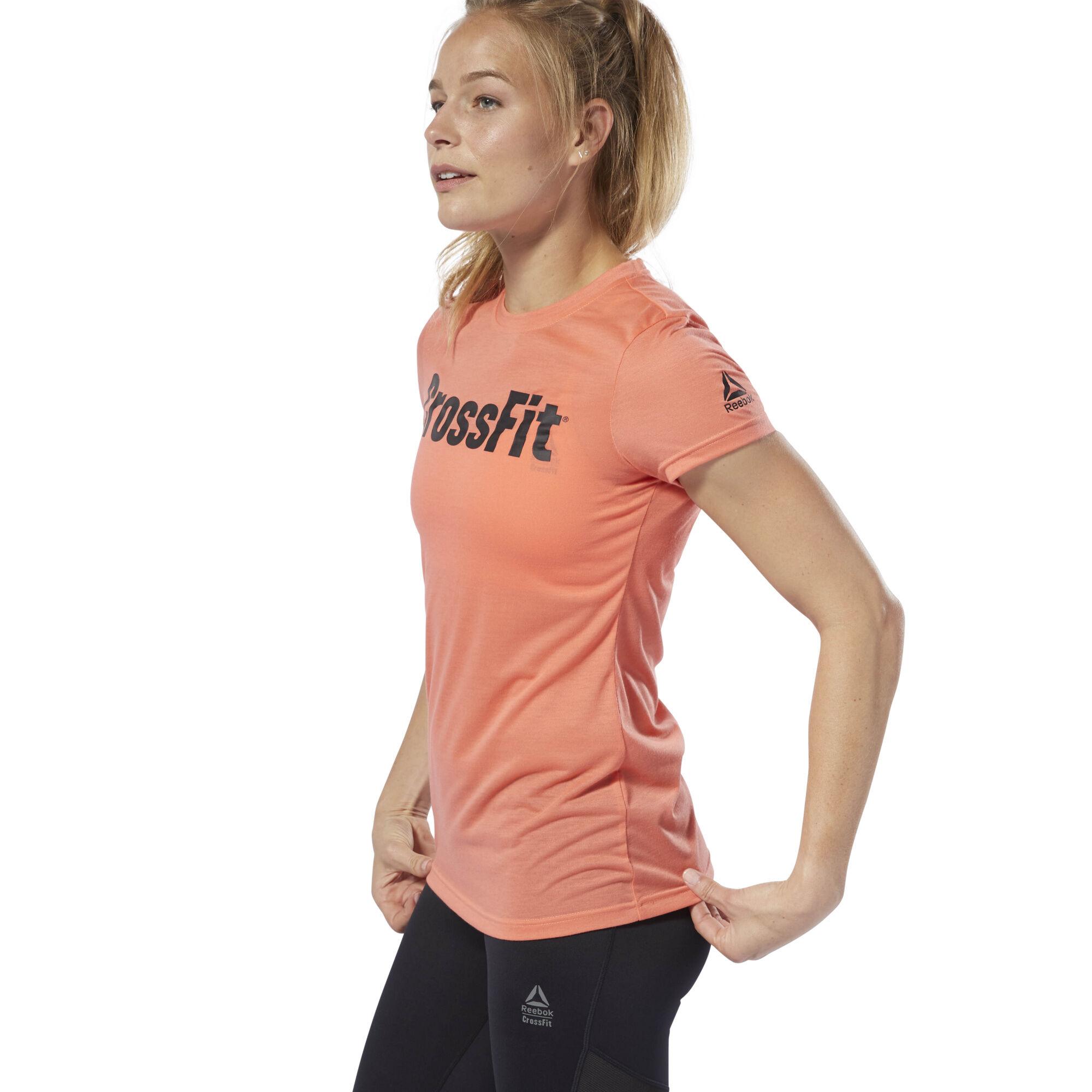 358e6b00376ef Reebok CrossFit® Solid Skinny Bra - Pink