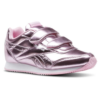 Reebok Royal Classic Jogger Metallic Light Pink/White CN5843