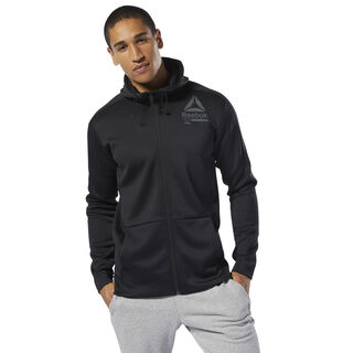 Training Spacer Full-Zip Hoodie Black DU3978