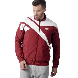 Reebok Archive Vector Tracktop Collegiate Burgundy / White DW9159
