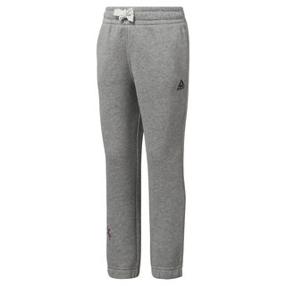 Girls Training Essentials Fleece Pant Medium Grey Heather DJ3066