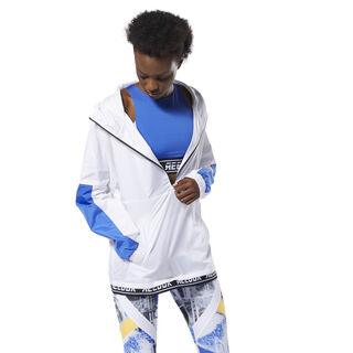 WOR Meet You There Woven Jacket White DP6695