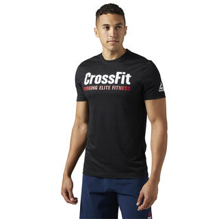 Reebok CrossFit Forging Elite Fitness Tee Black BR0736