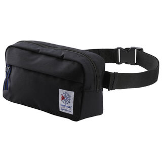 Classic Throwback Zippered Waistbag Black DH3412