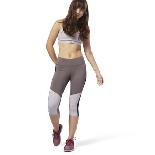 Workout Ready Capri Almost Grey D95505