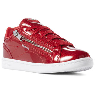 Reebok Royal Complete Clean Zip Red Sparkle/White DV4117