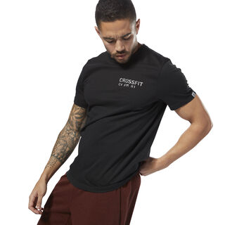 Reebok CrossFit 'Mess You Up' Tee Black DH3684