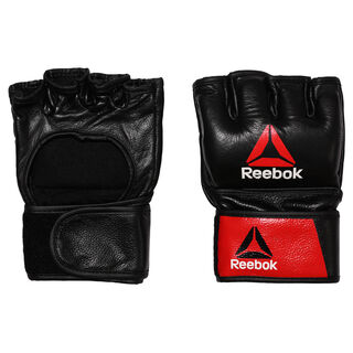 Combat Leather MMA Glove - Small Black/Red BH7248