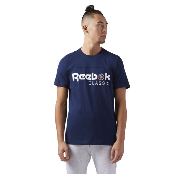 e0ff36dc23ca Reebok Classics Iconic Tee - Blue