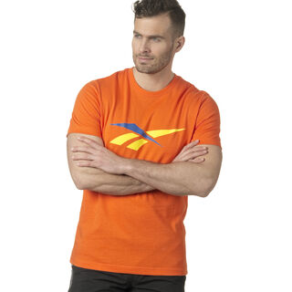 LF 90S Print T-Shirt Orange/Bright Lava DN9810