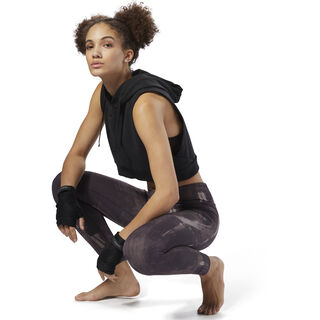 Reebok Combat Lux Bold Tights Smoky Volcano D96031