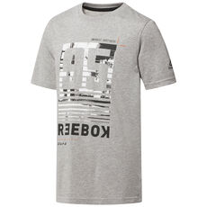 3df8e9249bf Reebok - Cotton Graphic T-Shirt Medium Grey Heather CF4206