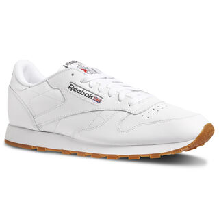 Classic Leather Intense White/Gum 49799