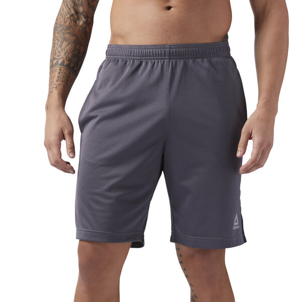 Mesh Workout Shorts Grey CE3909