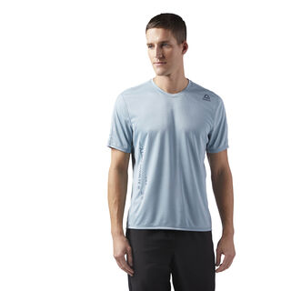 Obstacle Course T-Shirt Blue/Whisper Teal CE0131