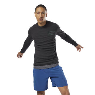 CrossFit Long Sleeve Thermal Top Black CY4944