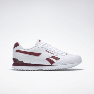 REEBOK ROYAL GLIDE White/Collegiate Burgundy BD5322