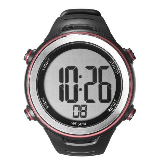 Reebok - Pulse Steel + Heart Rate Monitor Black/Red CK6820