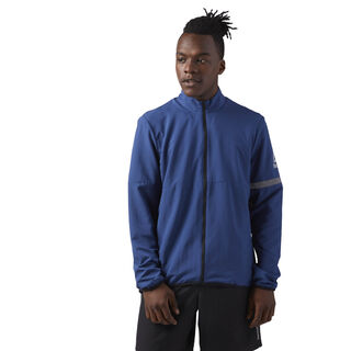 Running Woven Jacket Washed Blue CD5691