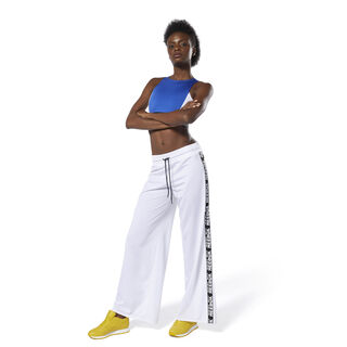 WOR Meet You There Wide Leg Pants White DU4853