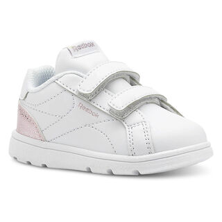 REEBOK ROYAL COMPLETE CLEAN Pastel-White/Practical Pink/Silver CN5067