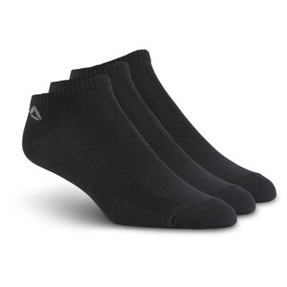 Reebok ONE Series Socks - 3pack Black/Black/Black/Tin Grey BP6231