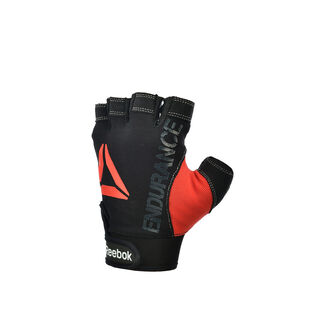 Strength Glove - Grey M Black/Red B78748