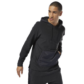 Training Essentials Microfleece Hoodie Black CY4854