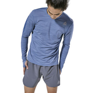 Running ACTIVCHILL Long Sleeve Tee Blue Slate D92318