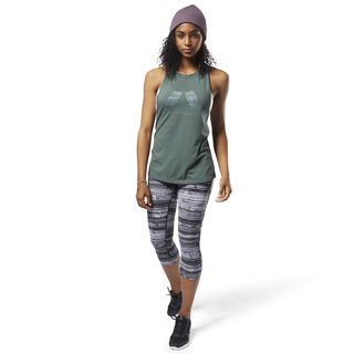 Burnout Tank Chalk Green D93852
